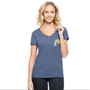 Indiana Pacers Club MVP Home V Neck Tee NWT L